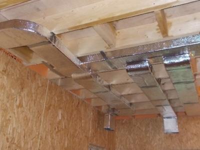 Типы систем вентиляций для каркасного дома