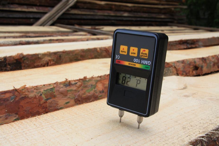 Что применяется для измерения влажности древесины
