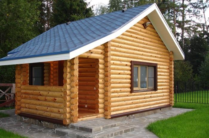 Крыша садового домика