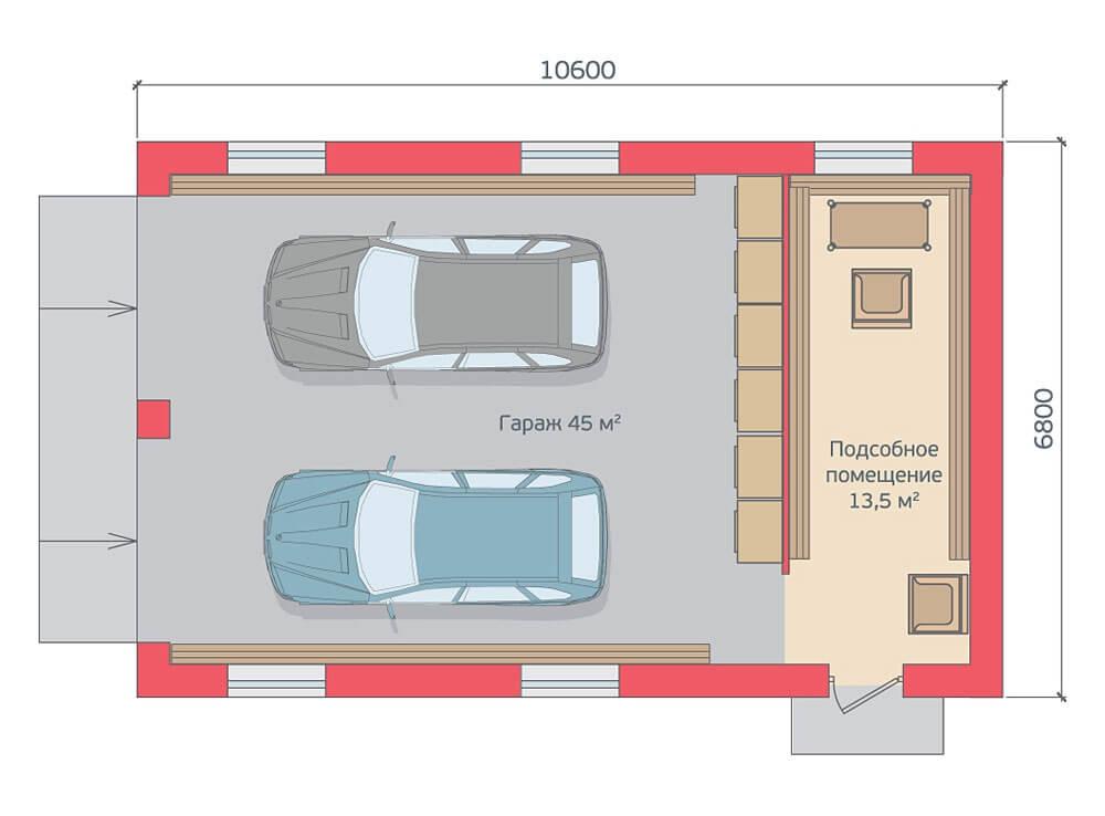 Как построить гараж с подвалом фото купить гараж в ярославской области