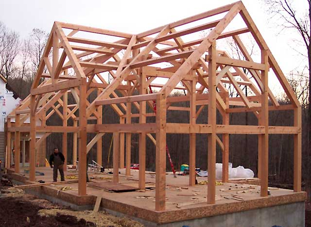 Строительство фахверковых домов своими руками