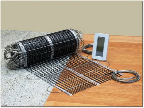 электрическое напольное отопление