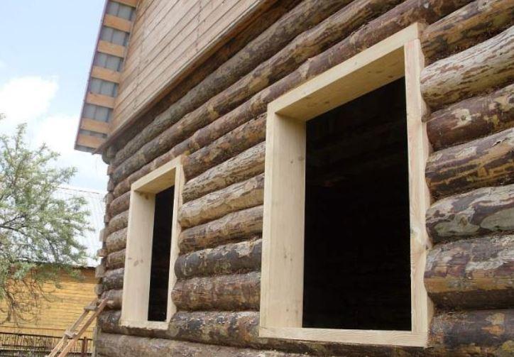 Как сделать окосячку в деревянном доме своими руками?