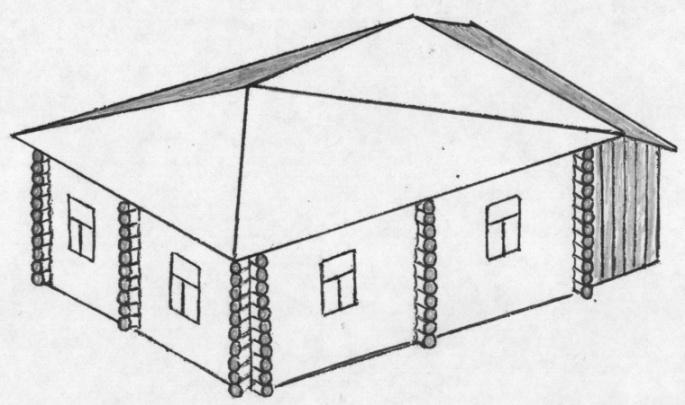 дом крестовик