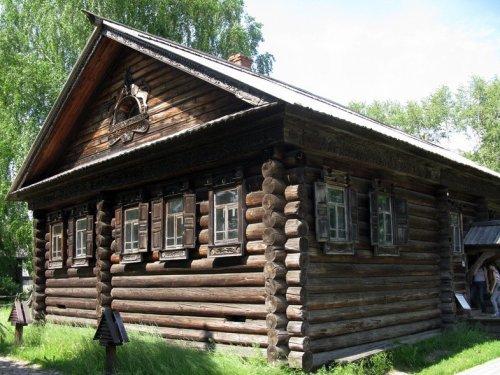 дом пятистенок