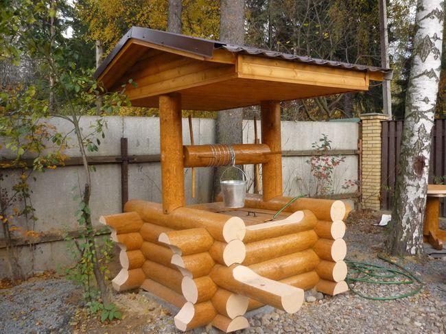 Колодец на даче – лучший источник питьевой воды!