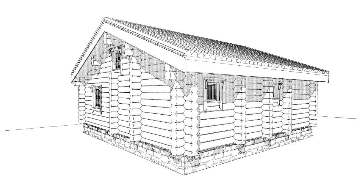 смета на строительство дома из бруса