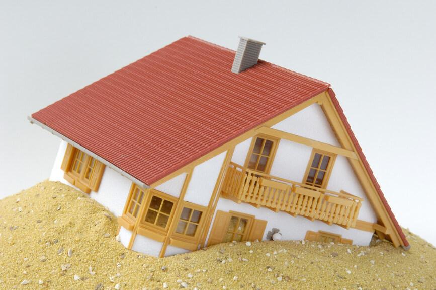Падение цен на жилье