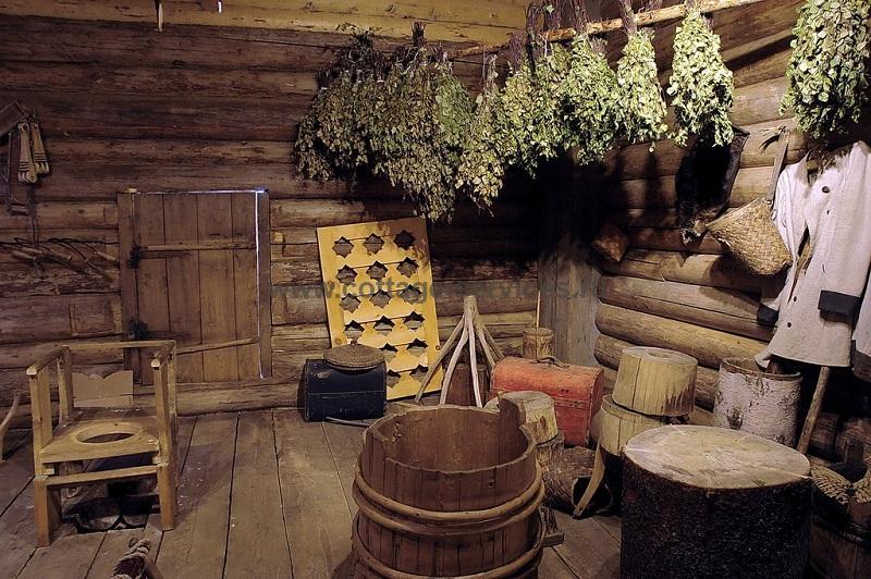 традиционная баня в России
