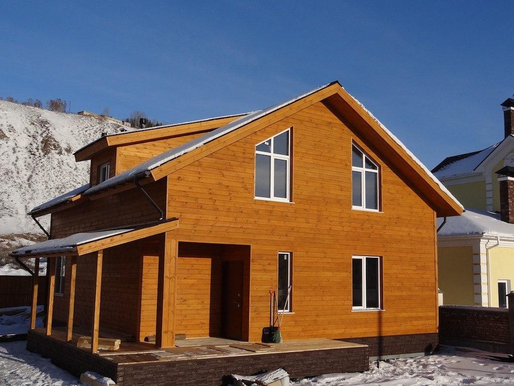 Сруб из бруса 10х10: вместительный дом для всей семьи!