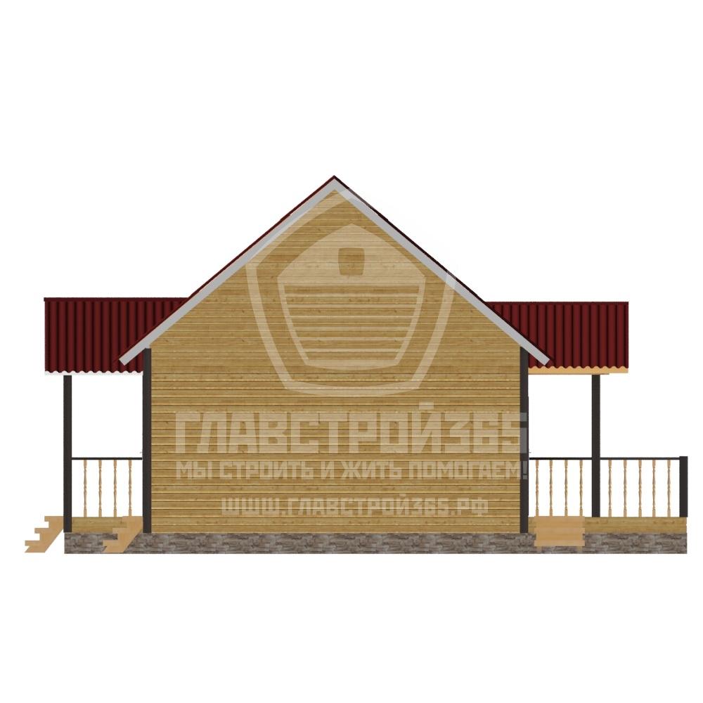дом из бруса с гаражом: проект