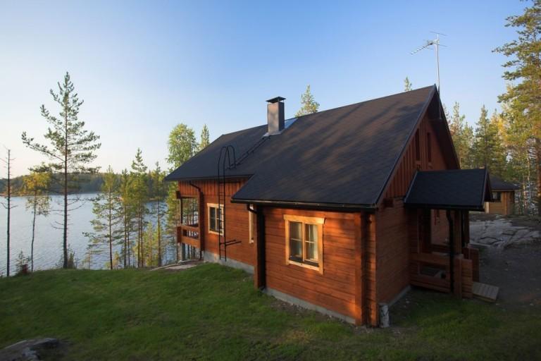 Красивые одноэтажные дома из бруса: фотографии, проекты, варианты планировки