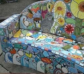 Мозаика мебель