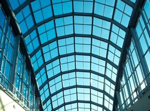 Стеклянные арки-крыши