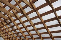 Деревянная рама для крыши