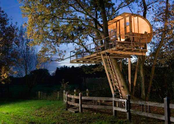 Мечта о домике на дереве может стать явью!