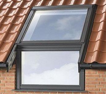 Карнизное мансардное окно