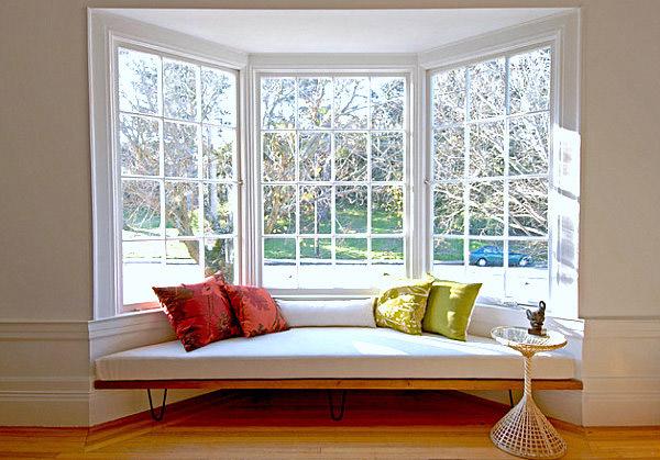 Bay Window Seat : Панорамные окна для деревянного дома quot за или против