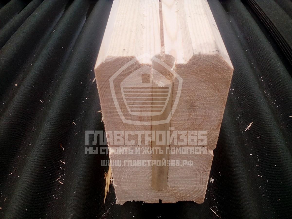Нагель соединяет венцы сруба