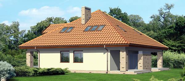 Шатровая крыша над мансардой