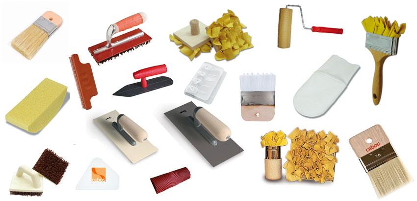 Инструменты для отделки декоративной штукатуркой