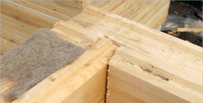 Стоит ли использовать джутовый утеплитель для деревянного дома?