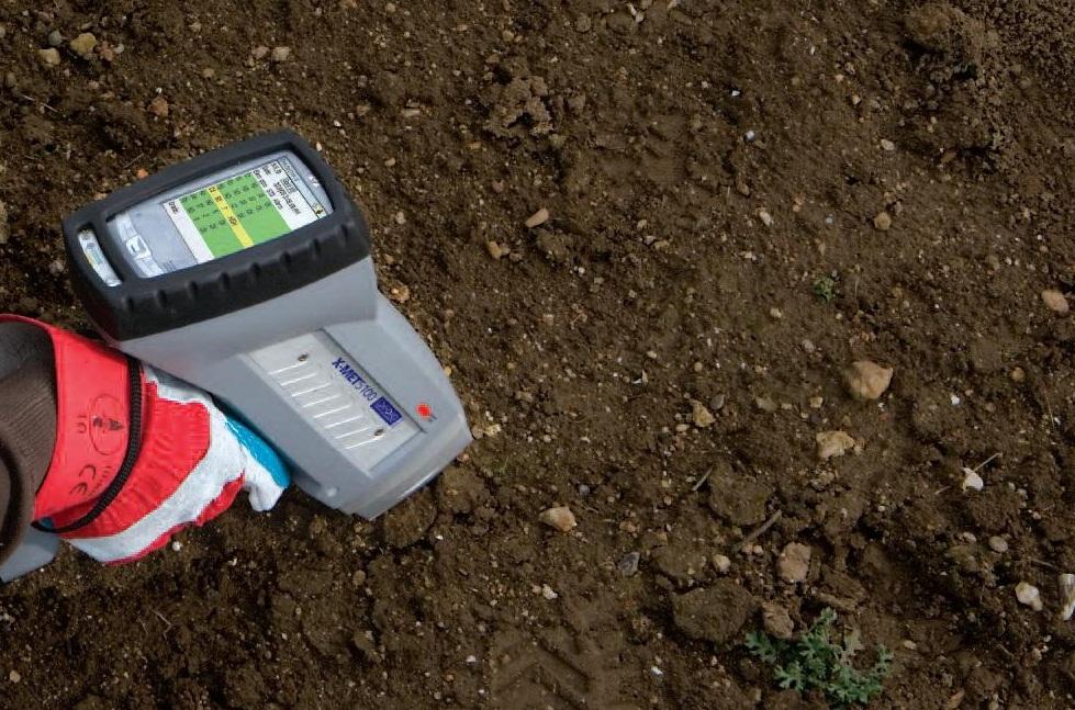 Анализ почвы участка для строительства