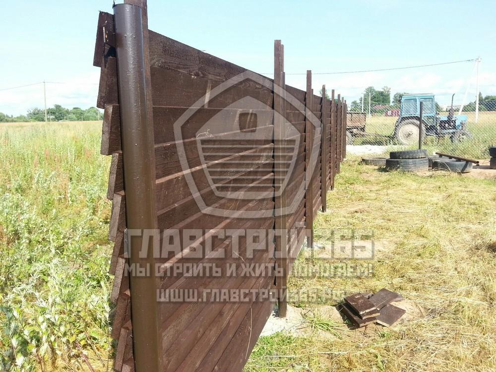 Как соорудить деревянный забор для дачи?