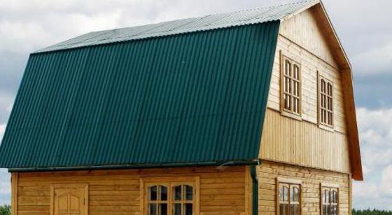 Мансардная или ломаная крыша