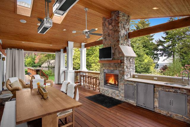 Своими руками: летняя кухня на даче