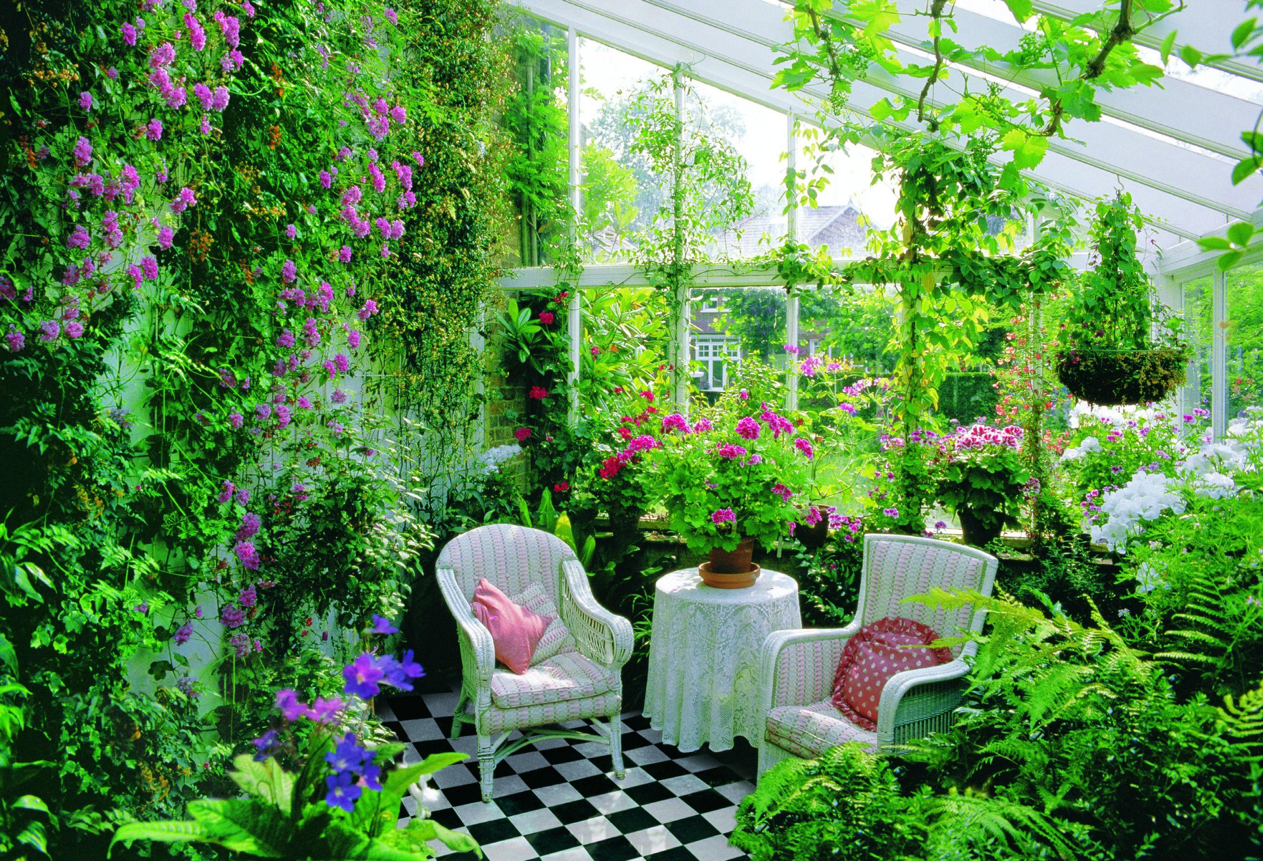 Возводим зимний сад в частном доме своими руками!.