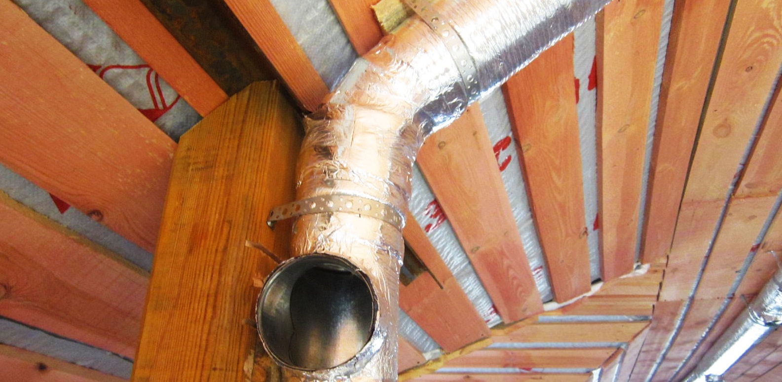 Обязательная вентиляция каркасного дома