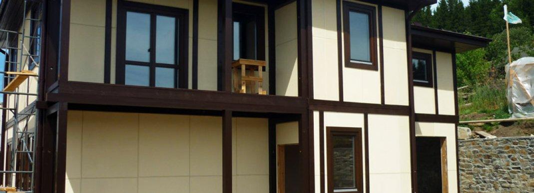 Отделка каркасного дома – варианты и способы