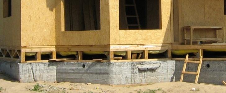 Какой фундамент лучше выбрать под каркасный дом? Типы, выбор, сравнение цен