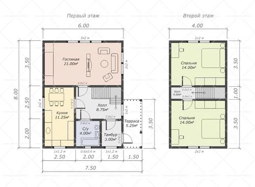 Составление проекта дома