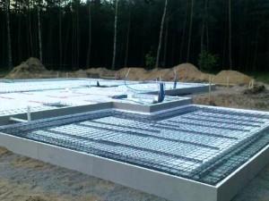 Фундамент УШП под брусовой дом - лучшее решение при высоком уровне грунтовых вод