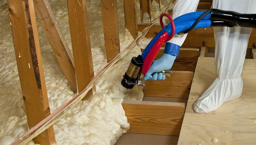Утепление чердачного перекрытия в каркасном доме