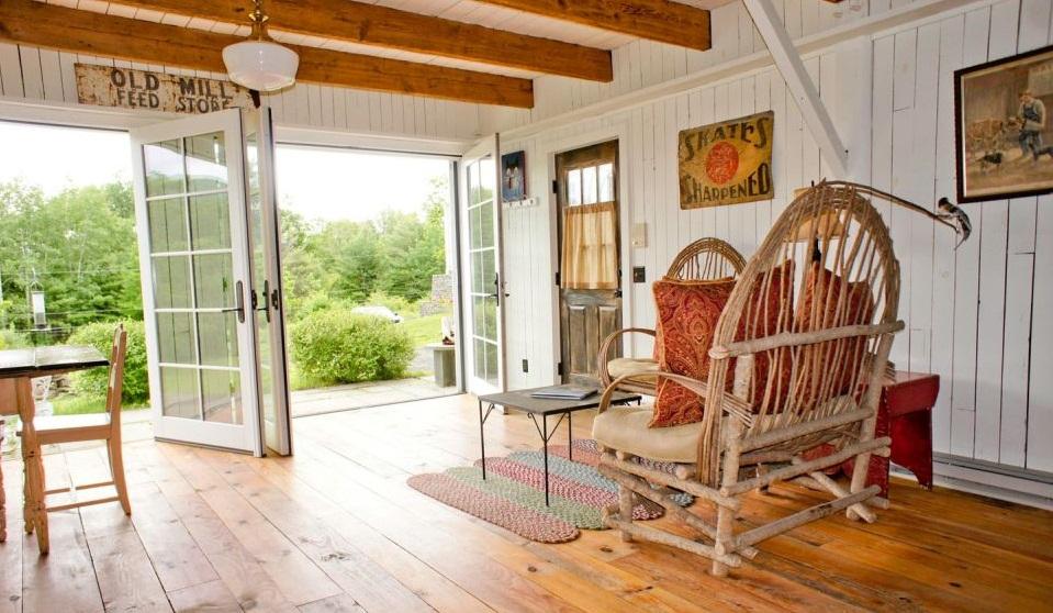 Интерьер дома в стиле барн хаус