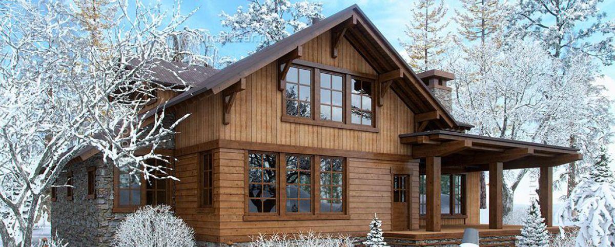 Канадский каркасный дом – быстрое строительство, надежный результат