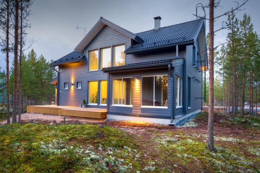Скандинавские каркасные дома – особенности строительства, материалы, технологии