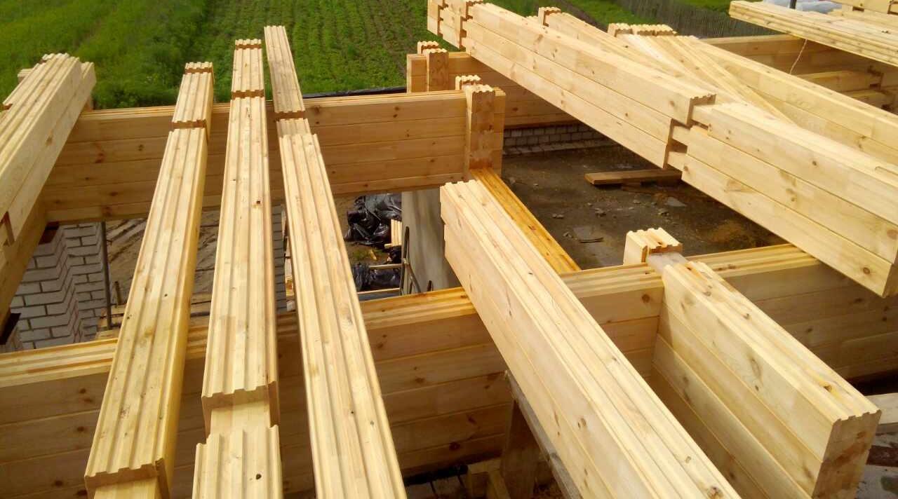 строительство из комбинированного бруса