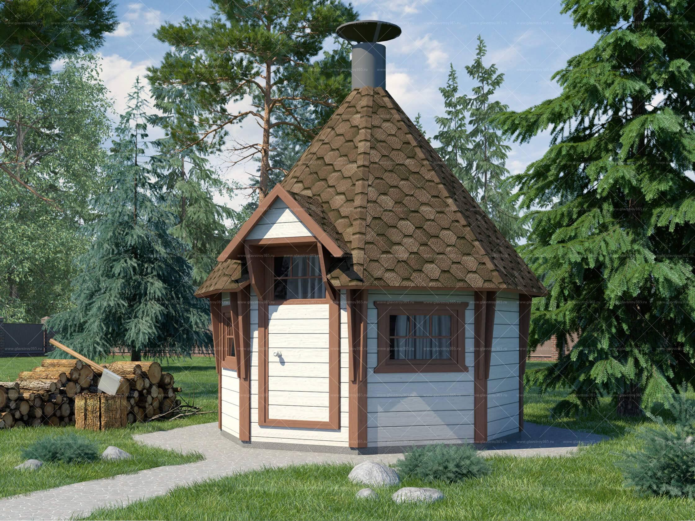 готовый гриль домик