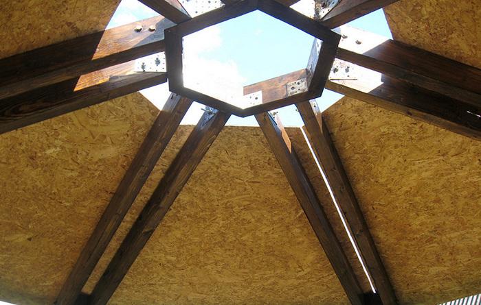 Крыша для гриль-домика