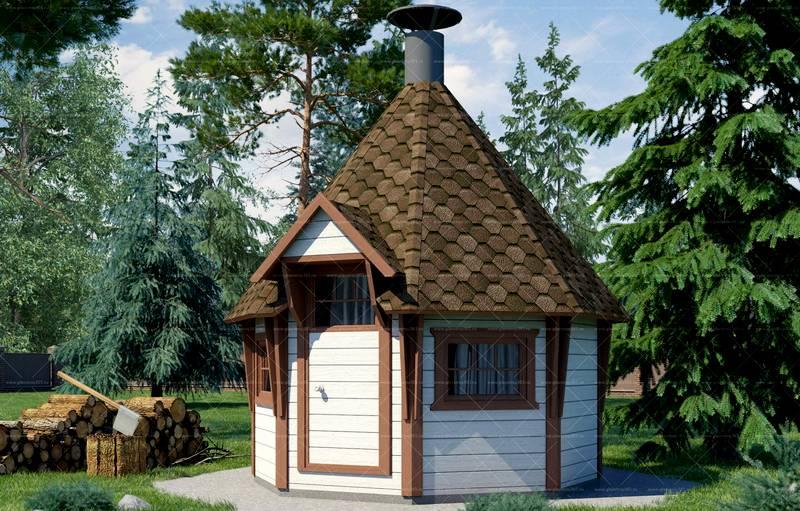 готовый гриль-домик