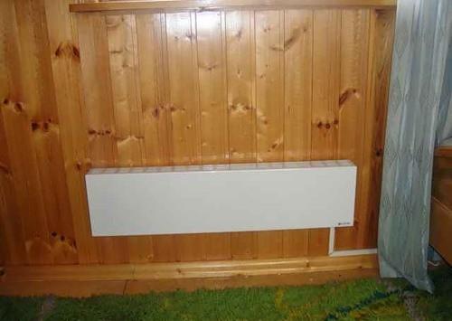 Электрическое отопление брусового дома