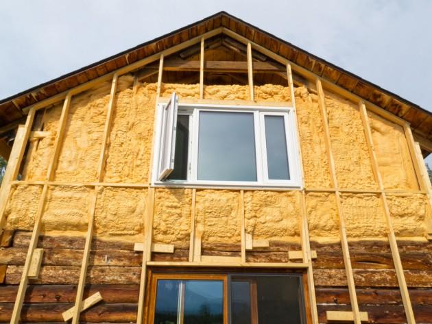 теплоизоляция дома из бруса снаружи