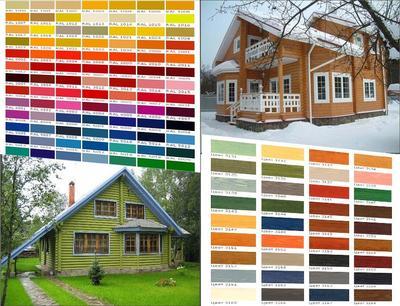 Выбор цвета дома