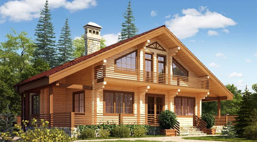 Как выбрать лучший проект дома из бруса?